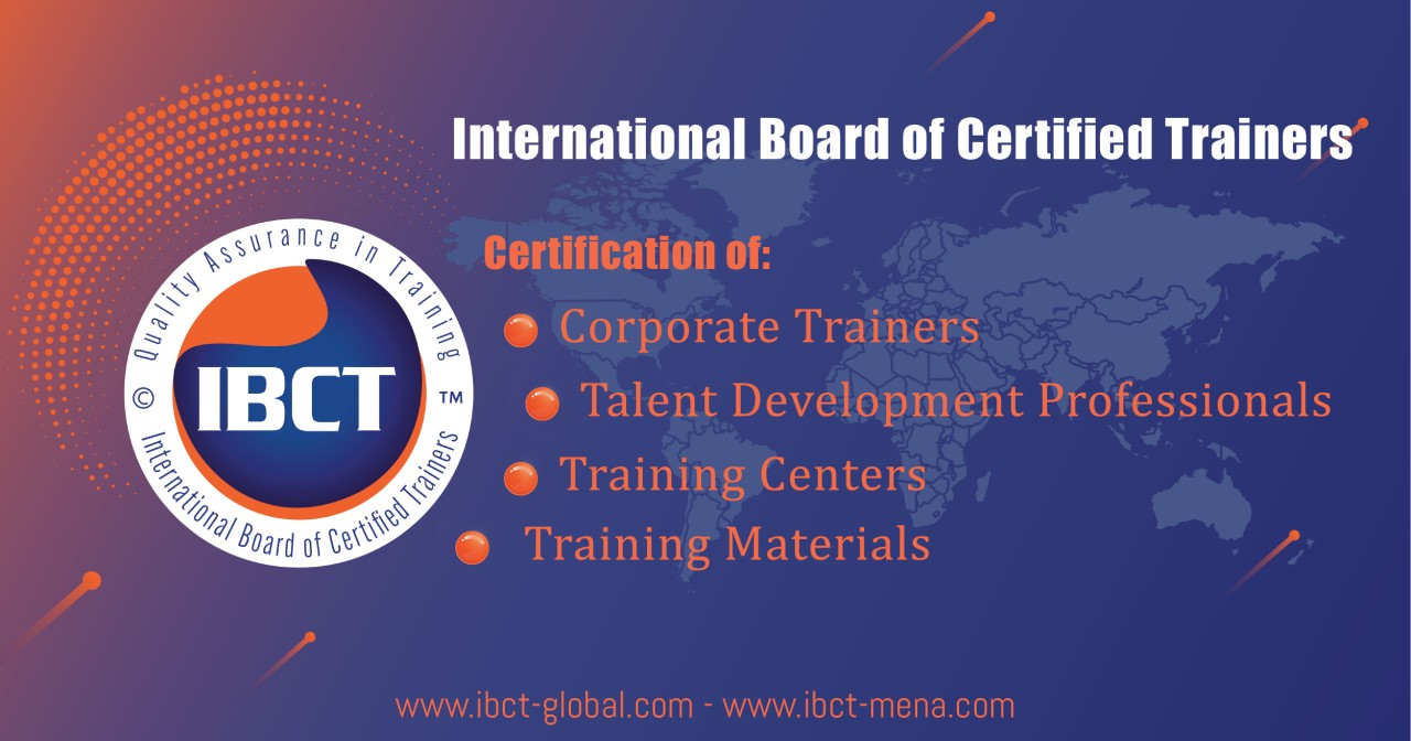 Certification Of Corporate Trainers International Board Of